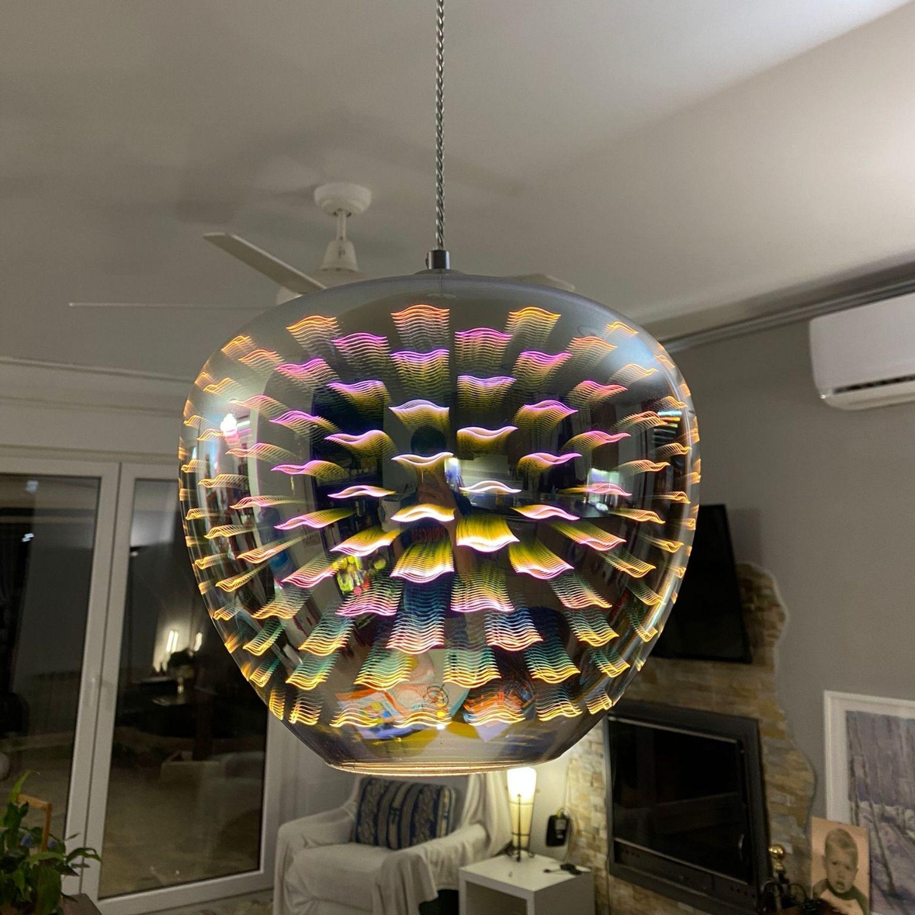 luz moderna alternativa lámpara colgante